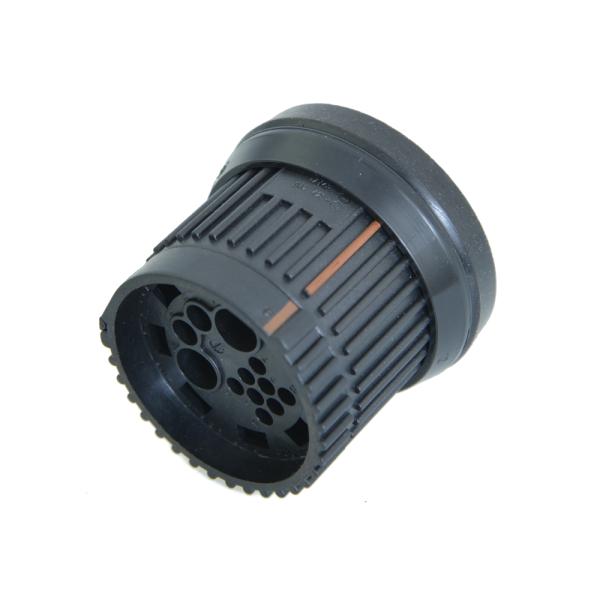Flachsteckergehäuse passendes Kontaktgehäuse: 1H0 973 131 C 12 polig 1H0973103C