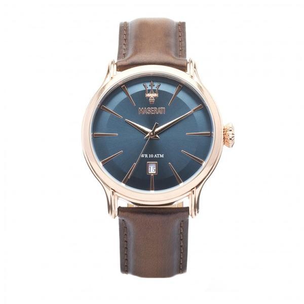 Armbanduhr Epoca Blau / Rosè Gold