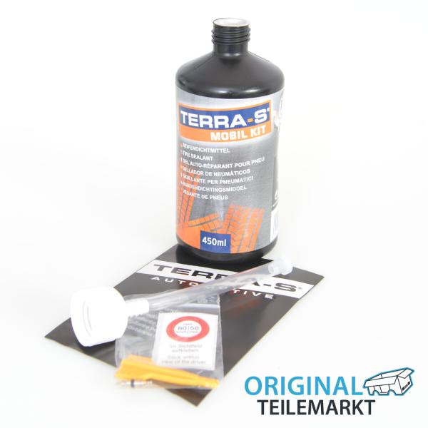 Terra S Reifendichtmittel 450ml für Reifenpannenset