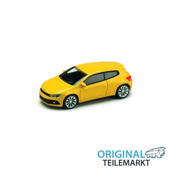 Spielzeugauto VW Scirocco gelb 3 Inch