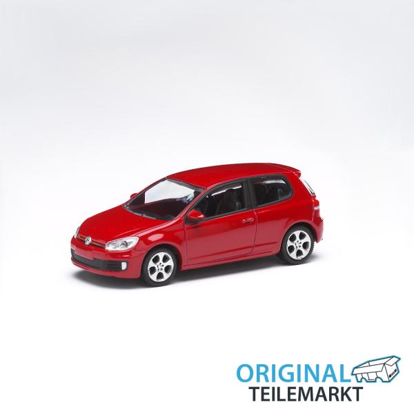 Spielzeugauto VW Golf GTI rot 3 Inch