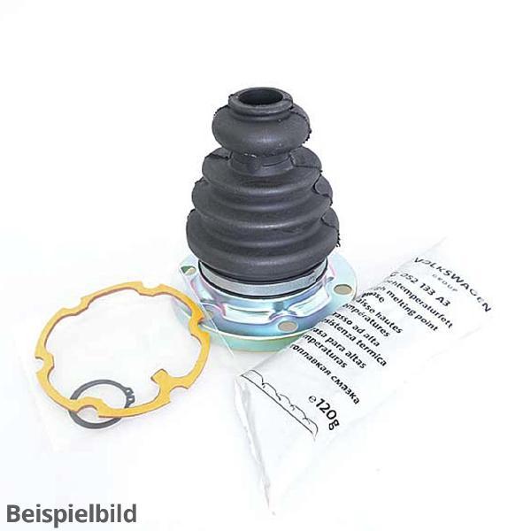 Gelenkschutzhülle mit Montageteilen 3Q0498201B