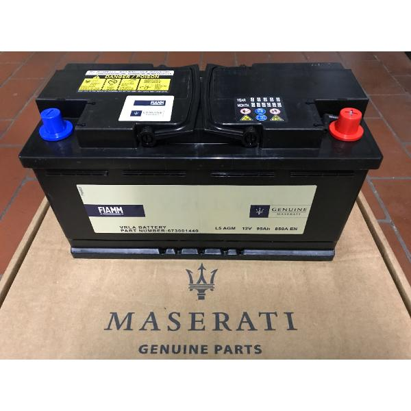 Batterie 673 001 440 Original Maserati 95AH-850A