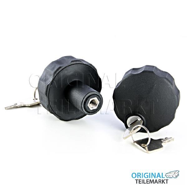 VW Knebelmutter SET abschließbar 1J0071734