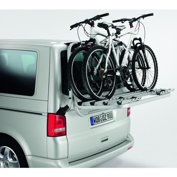 fahrradtr ger f r heckklappe vw transporter t5 7h0071104. Black Bedroom Furniture Sets. Home Design Ideas
