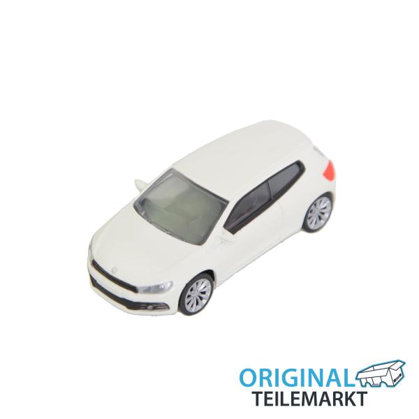 Spielzeugauto VW Scirocco weiß 3 Inch