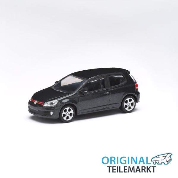 Spielzeugauto VW Golf GTI schwarz 3 Inch