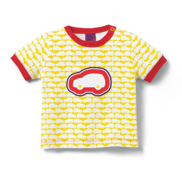 Baby T-Shirt Gelb Auto Gr. 68