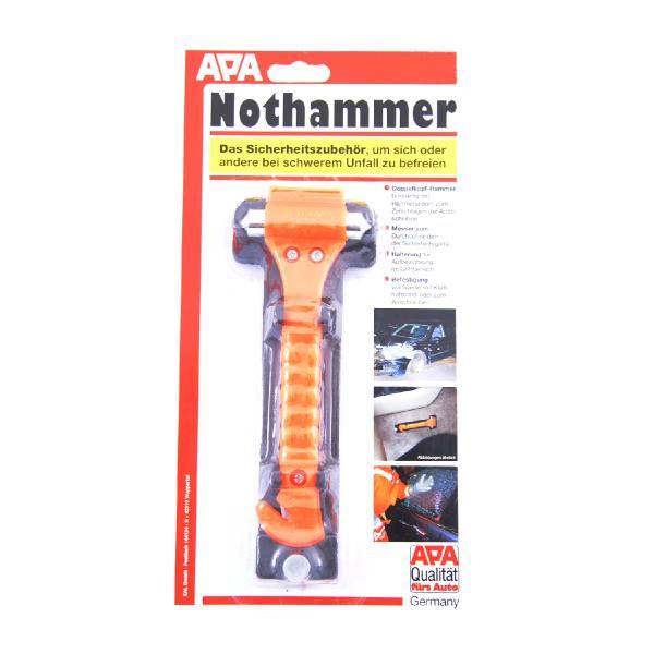 APA Nothammer mit Gurtmesser und Halter