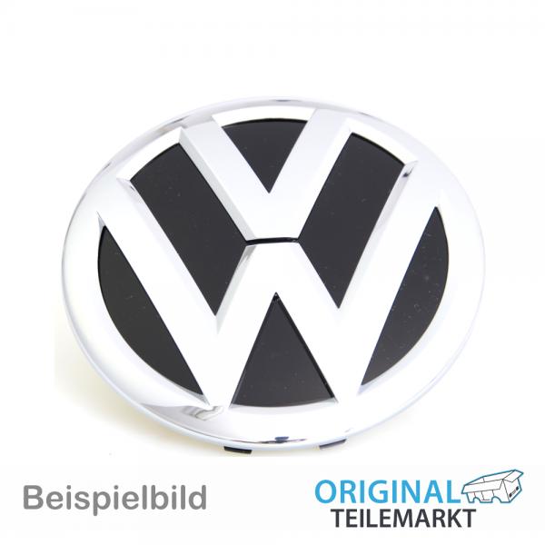 Emblem vorn K/ühlergrill Emblem Logo chrom schwarz 2H0853601AULM