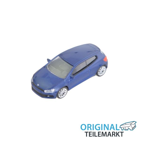 Spielzeugauto VW Scirocco blau 3 Inch